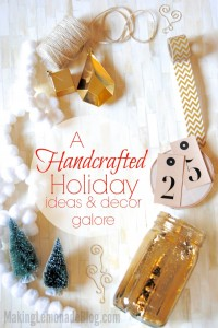 simple yet beautiful handcrafted Christmas ideas and decorations! Love the simple Scandinavian style!