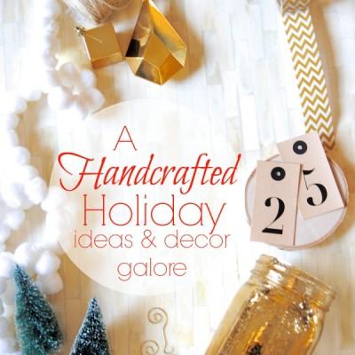 A Handmade Holiday {Scandi Christmas Style & Ideas Galore}
