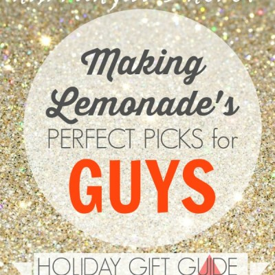 Great Gifts for Guys {Gift Guide 2014}