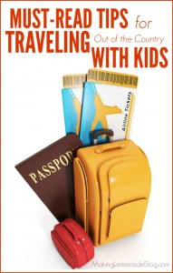 MUST-READ tips for traveling with kids; don't make the same mistakes we did!