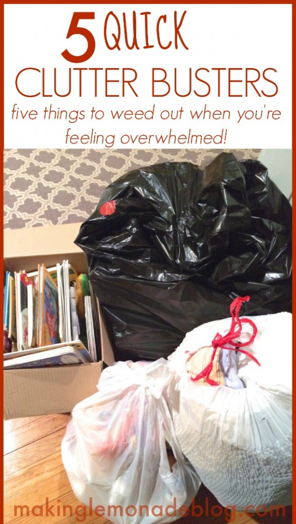 Best Posts of 2014: 5 Things to Declutter Right Now!