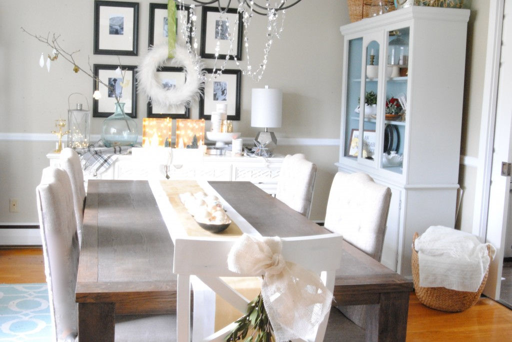 Light Bright Dining Room