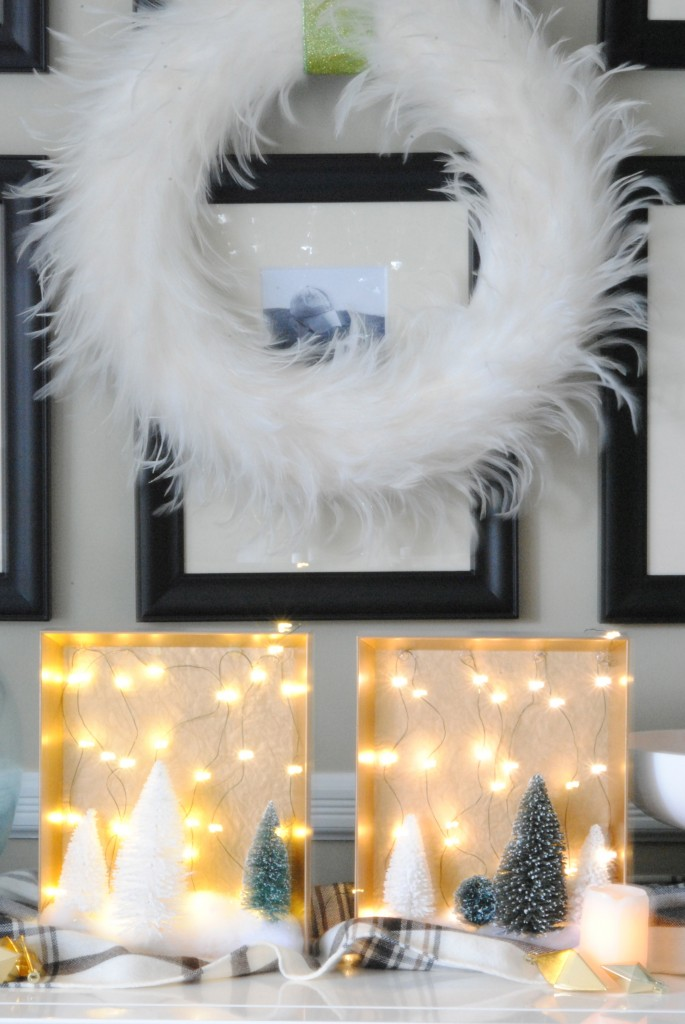 A Christmas Home Tour OVERFLOWING with easy and beautiful ideas for holiday decorations. Love these simple & glam Christmas ideas that are perfect for stylish families!