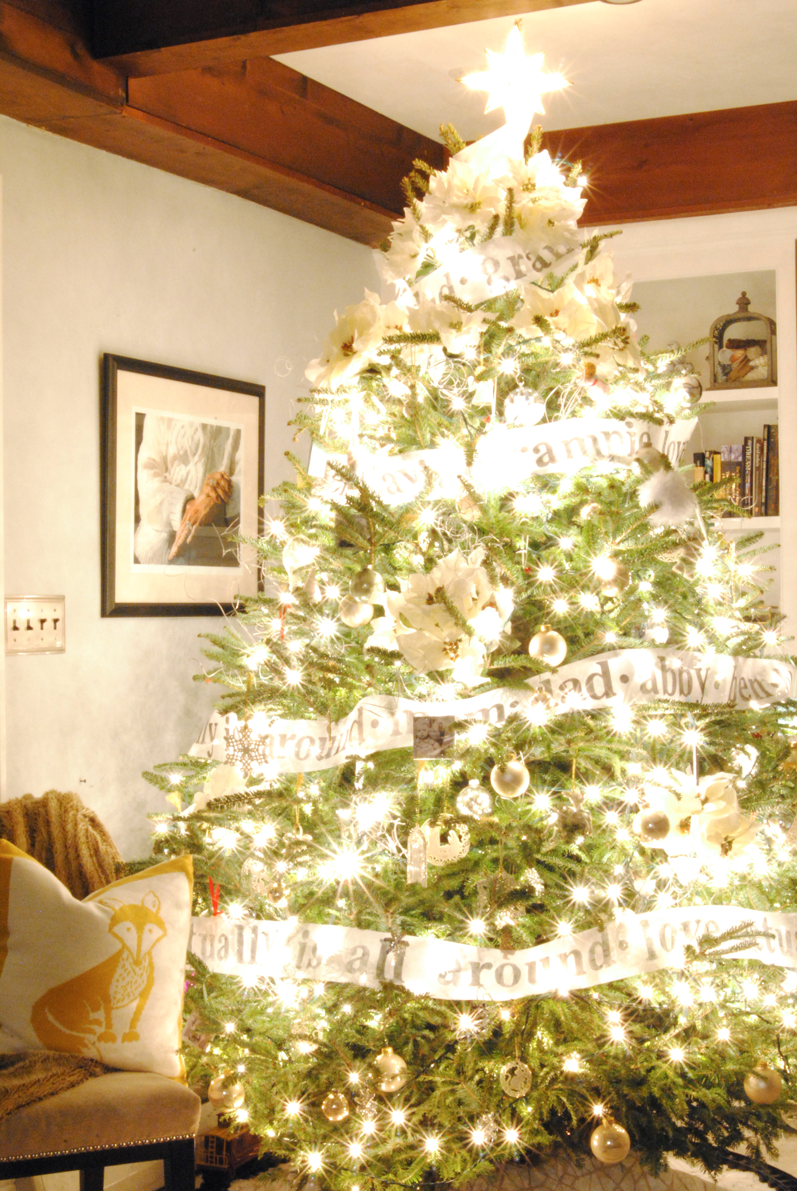 christmas decorating holiday decorations tour which tree simple pillow quite fox because