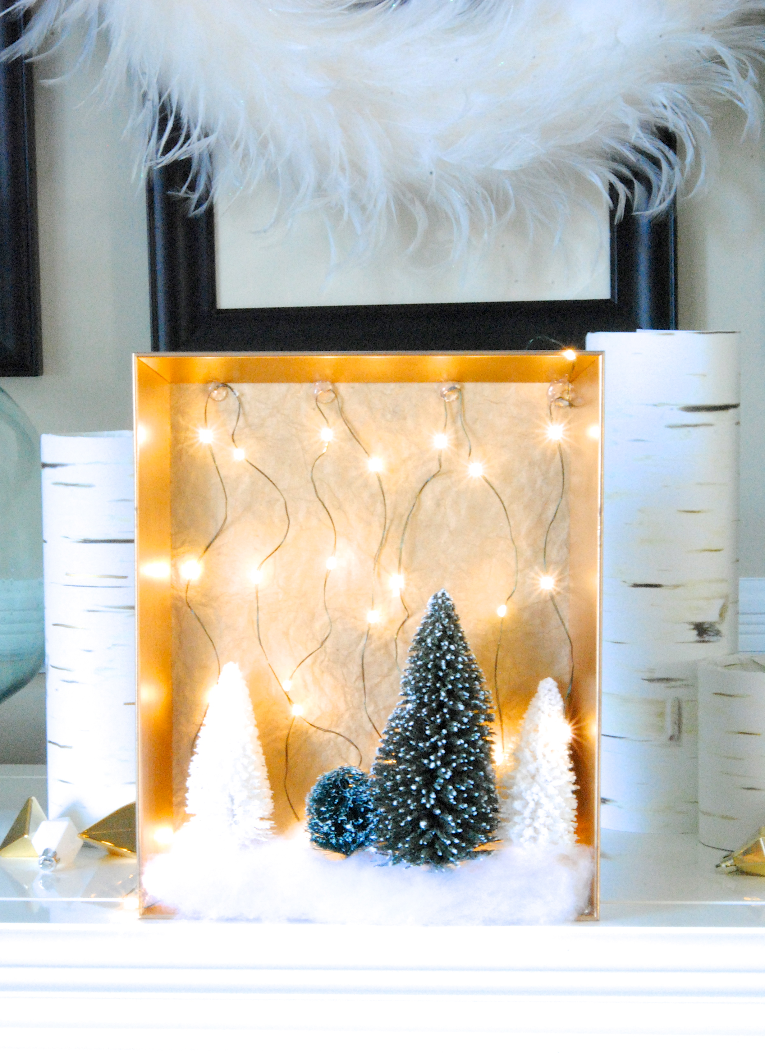 Fairy Light DIY Christmas Decorations
