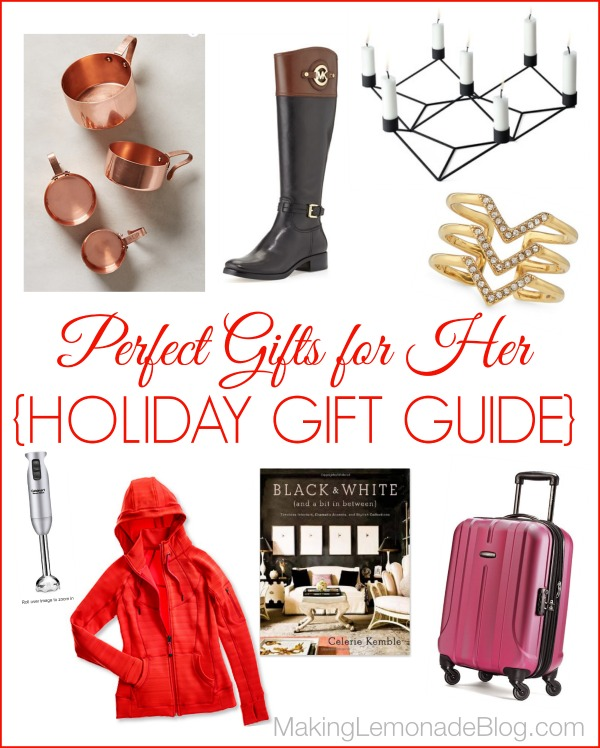Great Gift Ideas For Her Holiday Gift Guide Making