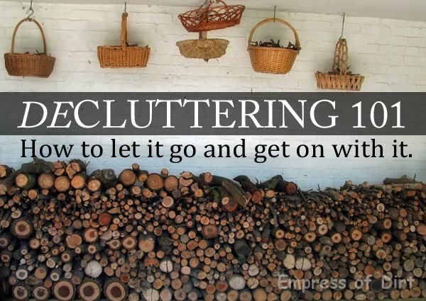 10 Must-Read Tips BEFORE Decluttering