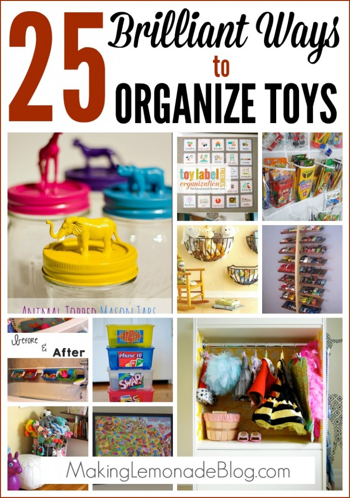 25 Brilliant Ways To Organize Toys Making Lemonade