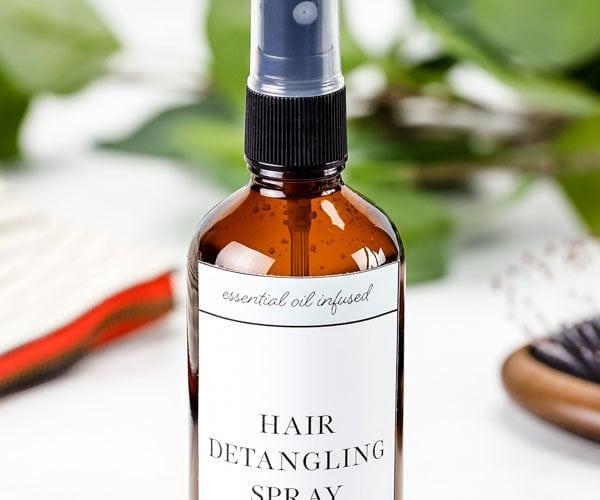 hair detangling spray bottle