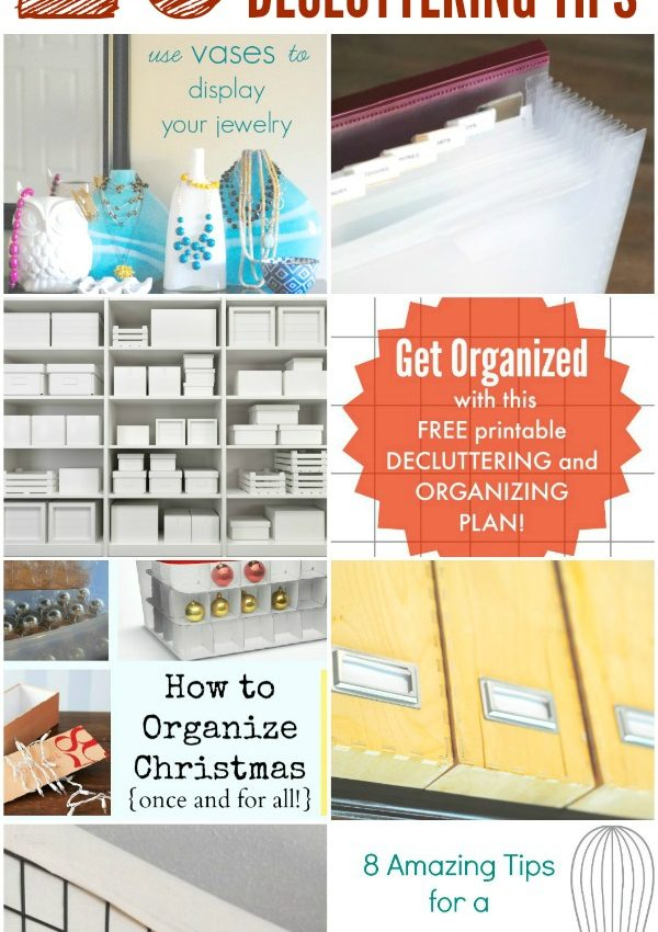 Top Tips to Organize & Declutter Your Home