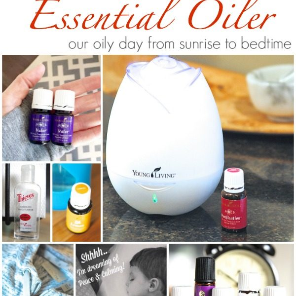 Take a peek into the life of an oily family to see HOW to use essential oils on a daily basis to support health and wellness!