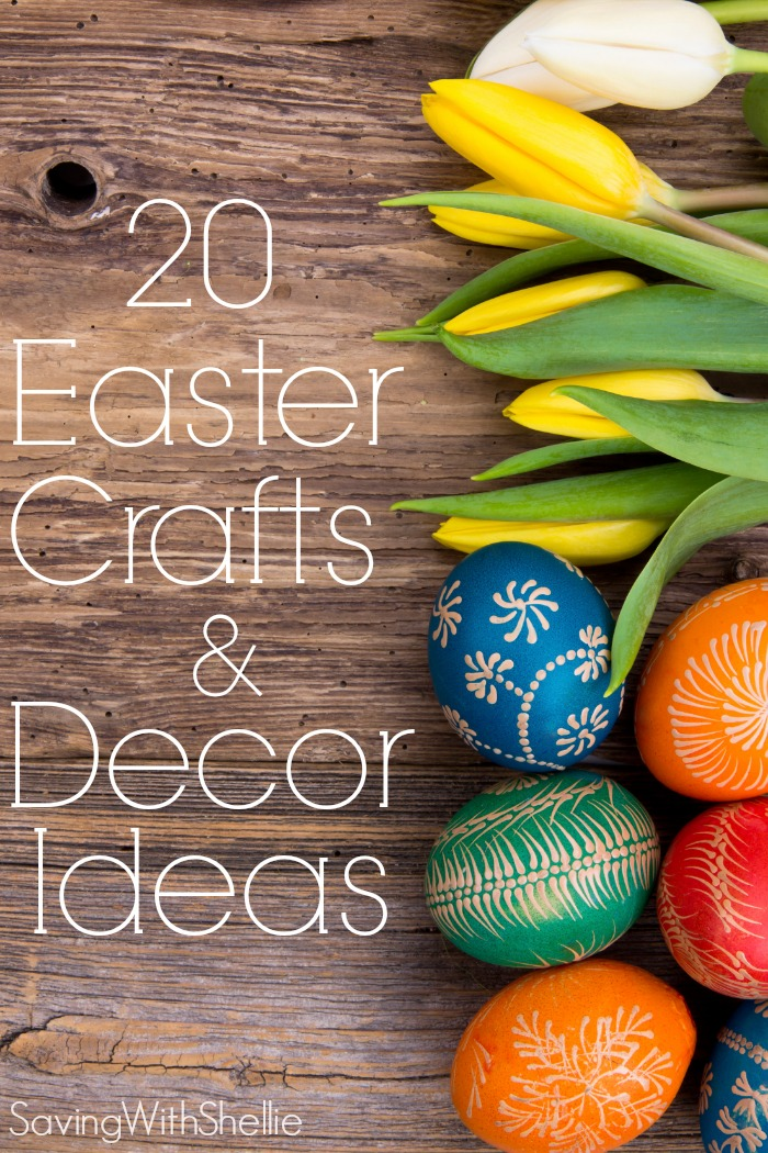 15 Spring & Easter DIY And Craft Ideas {that You'll Love