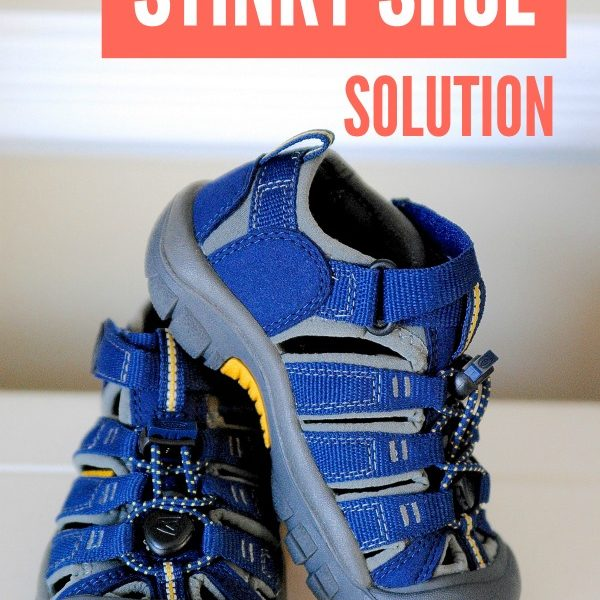 shhhh... here's the secret to getting rid of bad odors with this all natural stinky shoe solution!