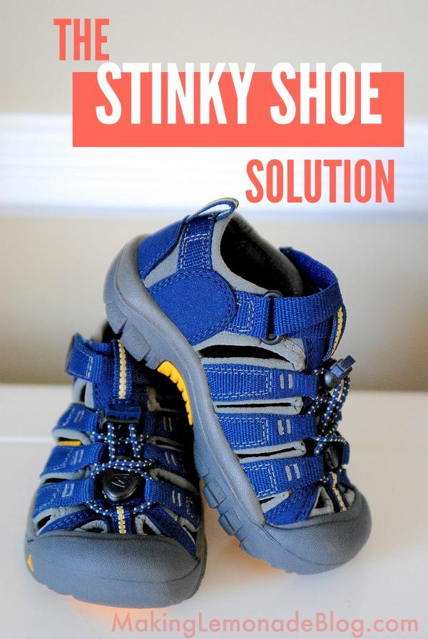 The {Top Secret} Stinky Shoe Solution
