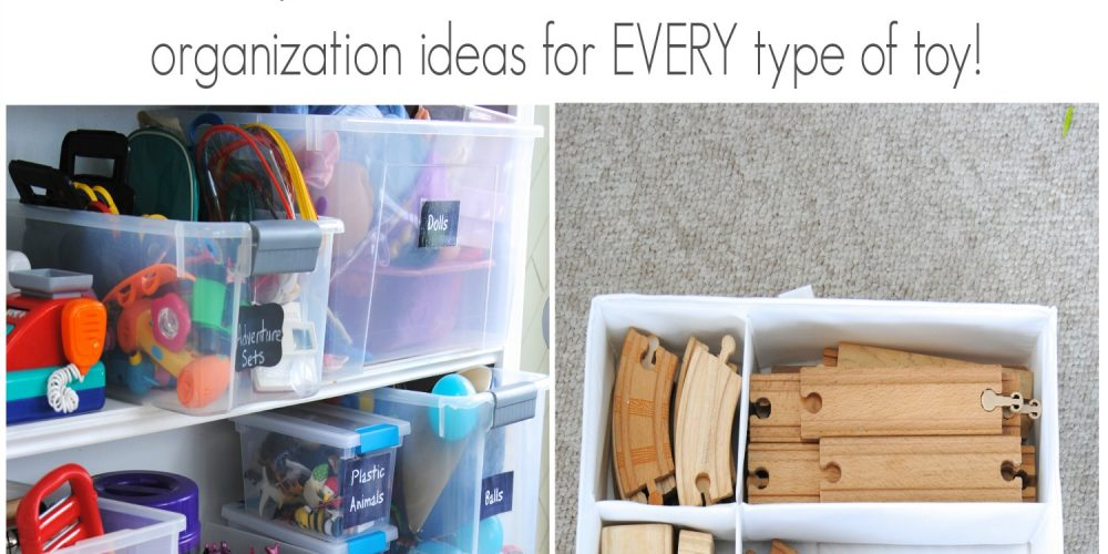 How to Organize and Tame Toys! Practical steps and clever ideas for organizing ALL types of toys to help you declutter and simplify your life!