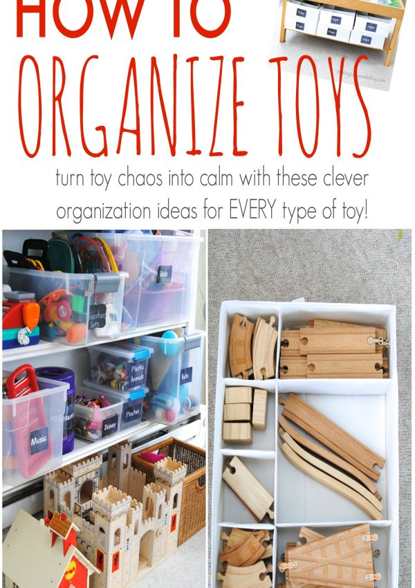 Toy Organization 101: Taming the Toys