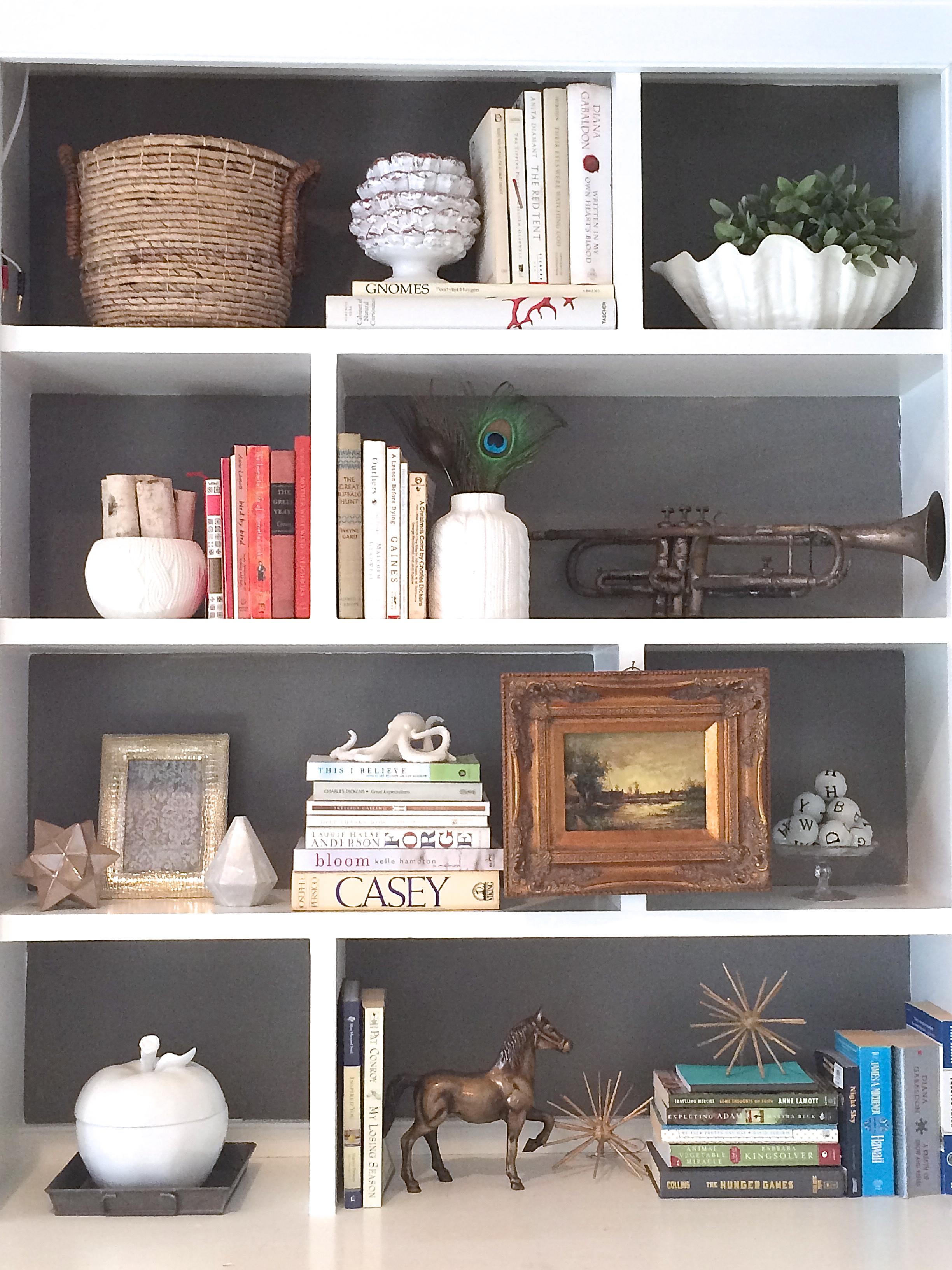 Bookshelves Built In Bookcase Decor Bookshelf Decorate Organizing. Full resolution  portraiture, nominally Width 2448 Height 3264 pixels, portraiture with #865745.