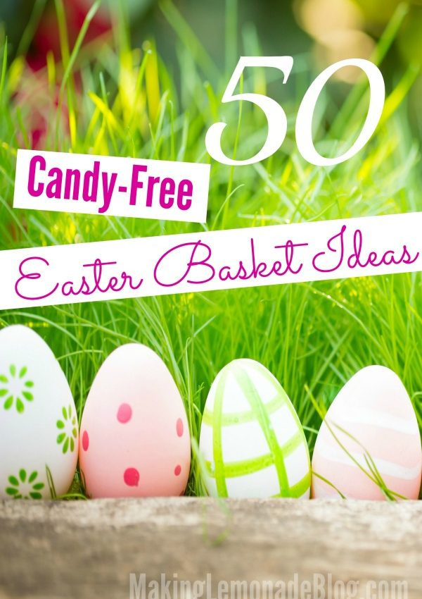 50 Candy-Free Easter Basket Ideas