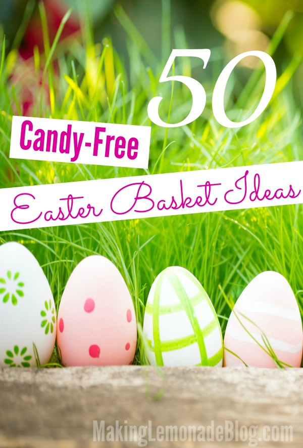 Easter basket with candy images 50 candy free easter basket negle Gallery