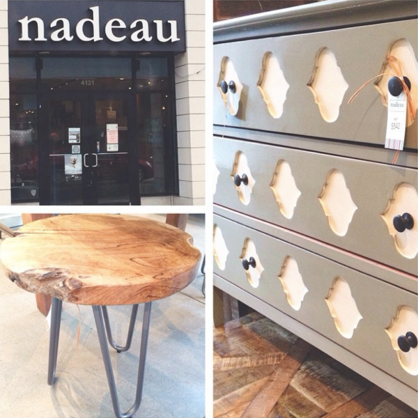 Scouting unique, handmade, and AFFORDABLE furniture finds at Nadeau! Come window shopping and scout out gorgeous pieces in a variety of budget-friendly styles that you'll love.