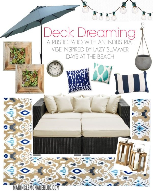 Great ideas to makeover your deck and patio for fabulous outdoor living this summer!