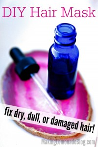 This DIY hair mask & serum has powerful essential oils and is all natural... with AMAZING results! Love the AFTER!