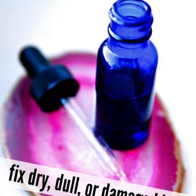 Amazing DIY Hair Mask with Essential Oils {Healthy Hair Serum!}