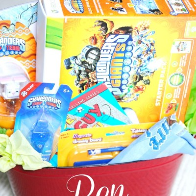 Easter Baskets for Skylanders Fans