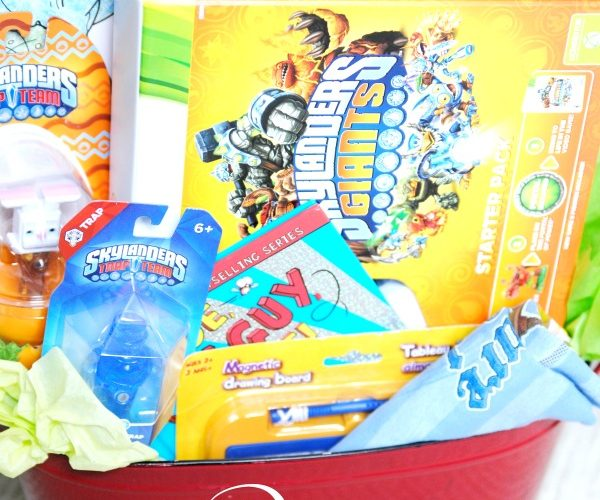 Skylanders fans will LOVE these Easter basket ideas!