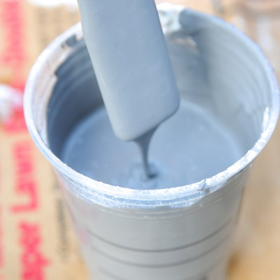 BEST Homemade Chalk Like Paint Recipe!