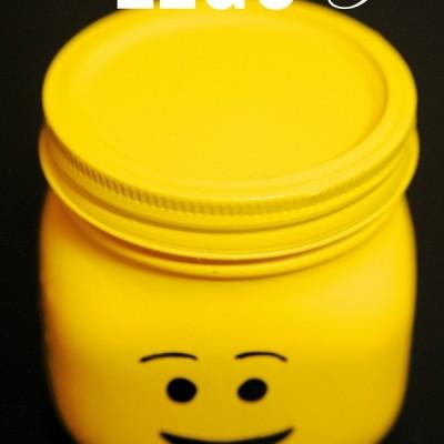 DIY LEGO Minifigure Jars