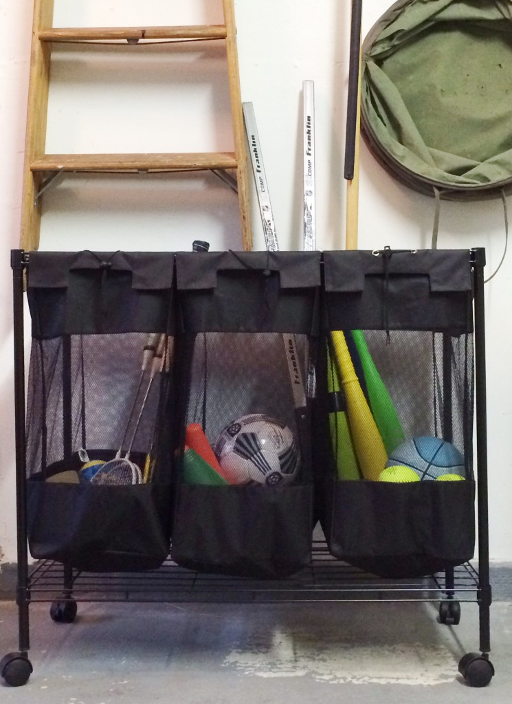 Great tips and ideas for organizing your garage once and for all!