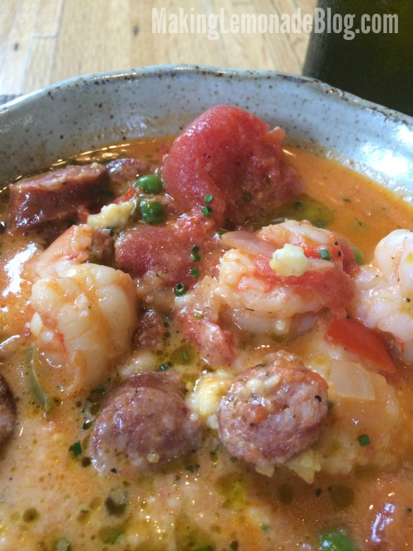 Charleston Shrimp and Grits at Husk