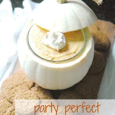 Pumpkin Spice Dip Recipe {Perfect Fall Dessert!}
