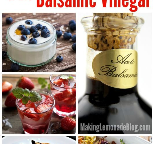 20 Unexpected & Delicious Ways to Use Balsamic Vinegar for Easy Recipes