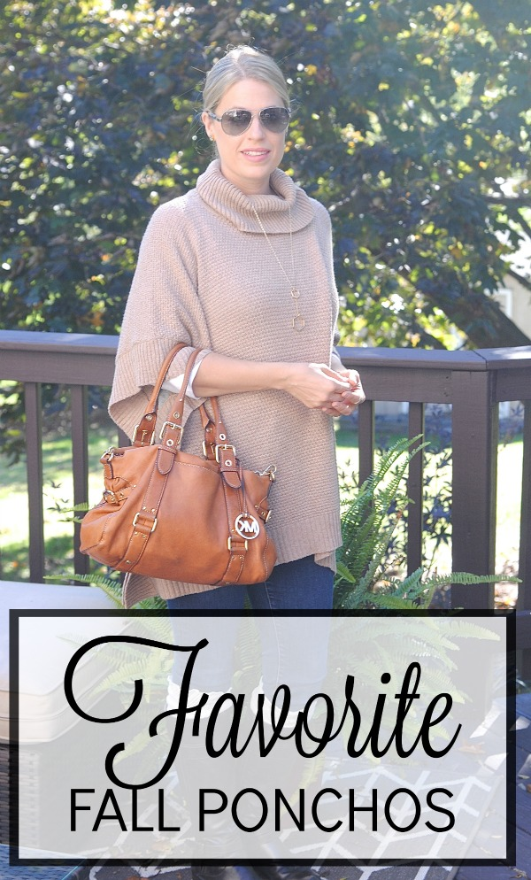 Ponchos are the perfect fall accessory, here's our favorites!