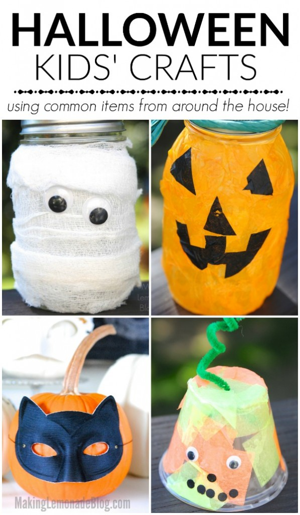 Kid's crafts from common items
