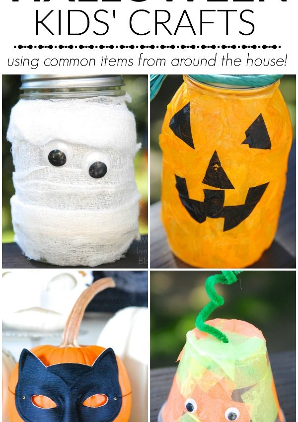 Quick Halloween Craft Ideas for Kids