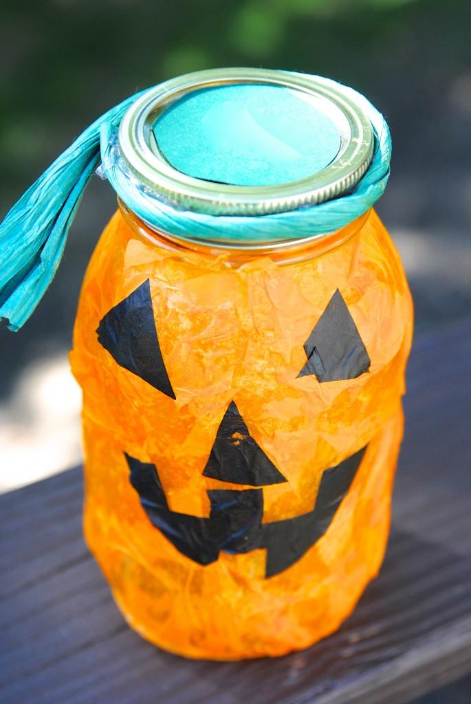Cute pumpkin lantern