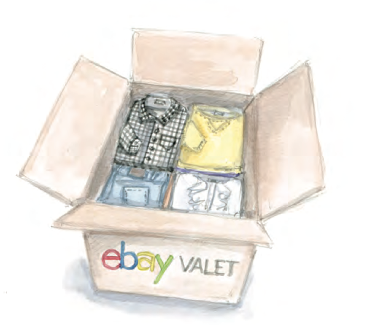 eBay Valet can help you declutter and make money