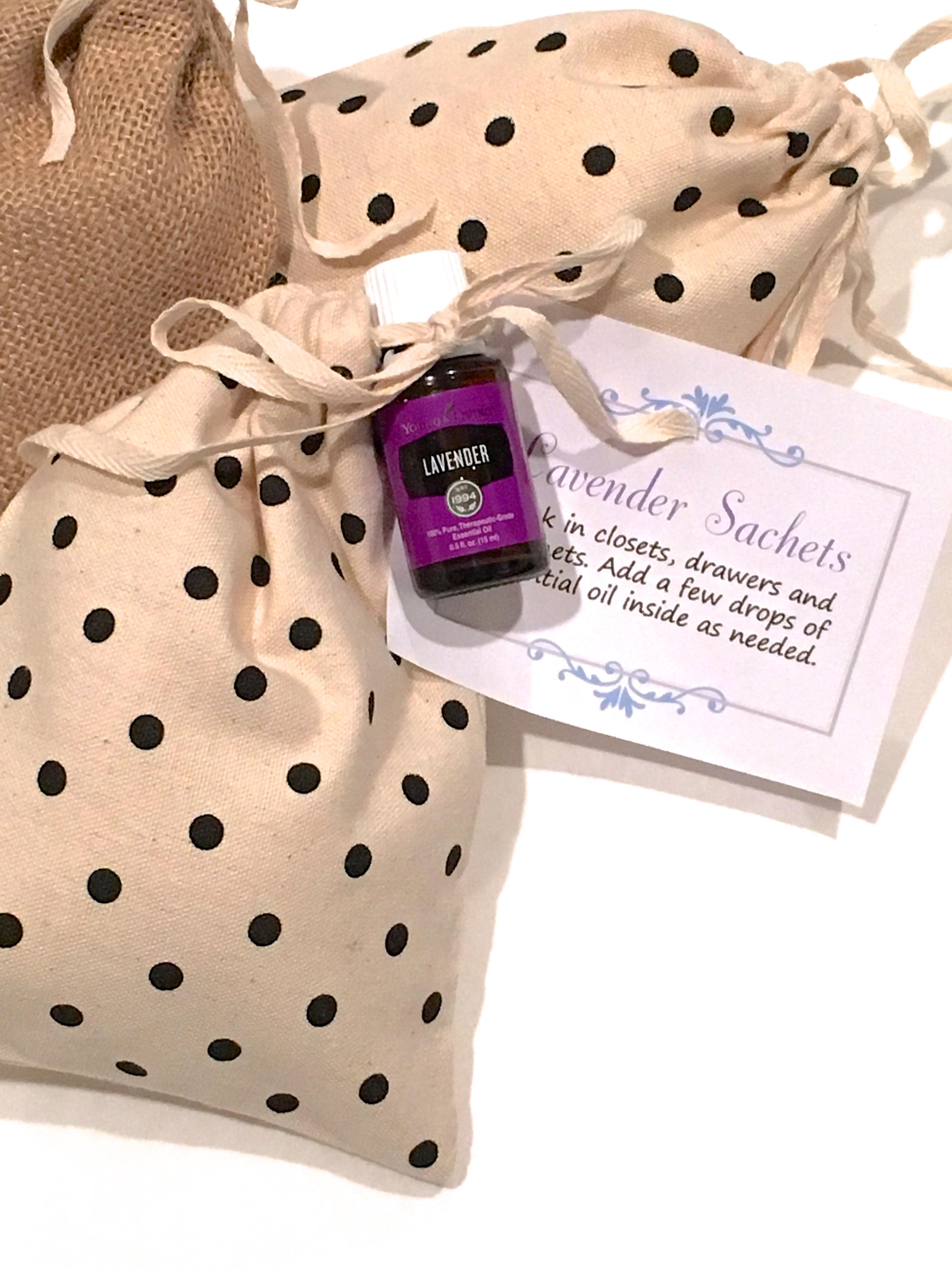 Diy Gift Idea Lavender Oil Sachet Making Lemonade
