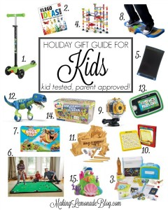 15 Best Holiday Gifts for Kids {Kid Tested, Parent Approved!}