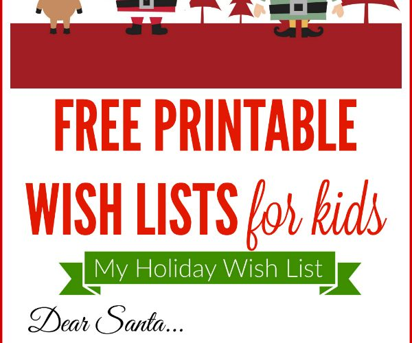 photograph regarding Free Printable Christmas Wish List titled Cost-free Printable Trip Drive Listing for Young children Generating Lemonade