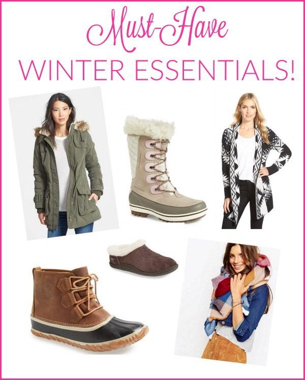 Winter Fashion Finds-- great picks for staying warm in style all winter long!