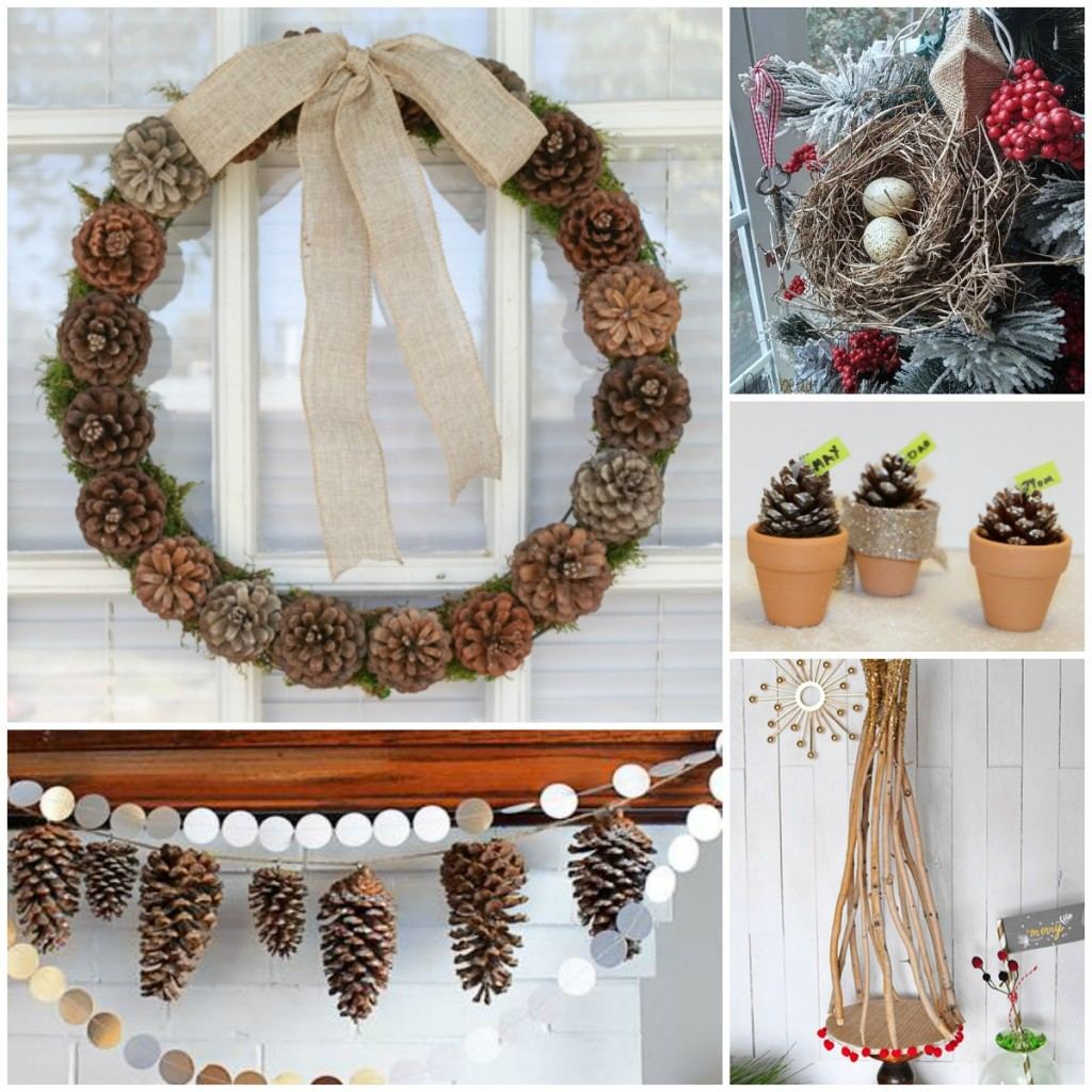 Natural Christmas Decor Ideas Aka Free Christmas Decorations