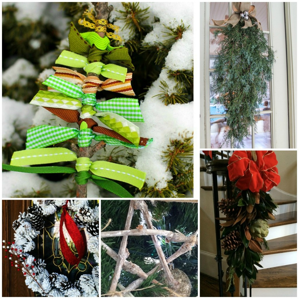 natural christmas decor ideas aka free christmas
