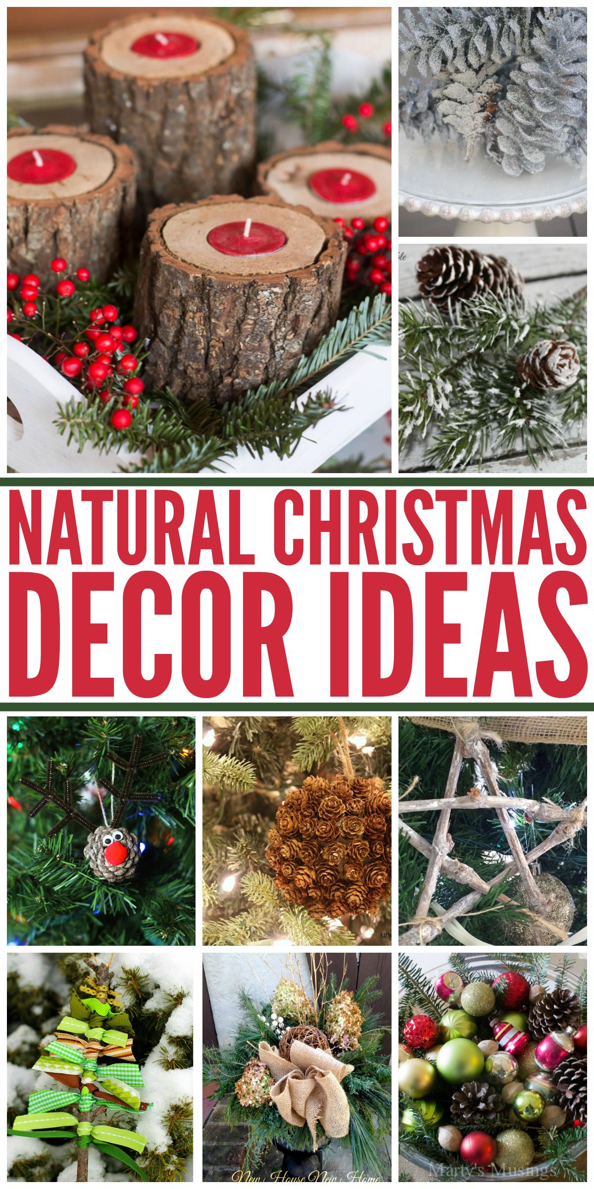 Natural Christmas Decor Ideas Aka Free Christmas Decorations Making Lemonade