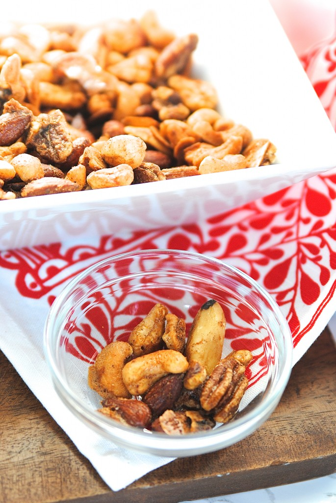 pumpkin spiced mixed nuts recipe