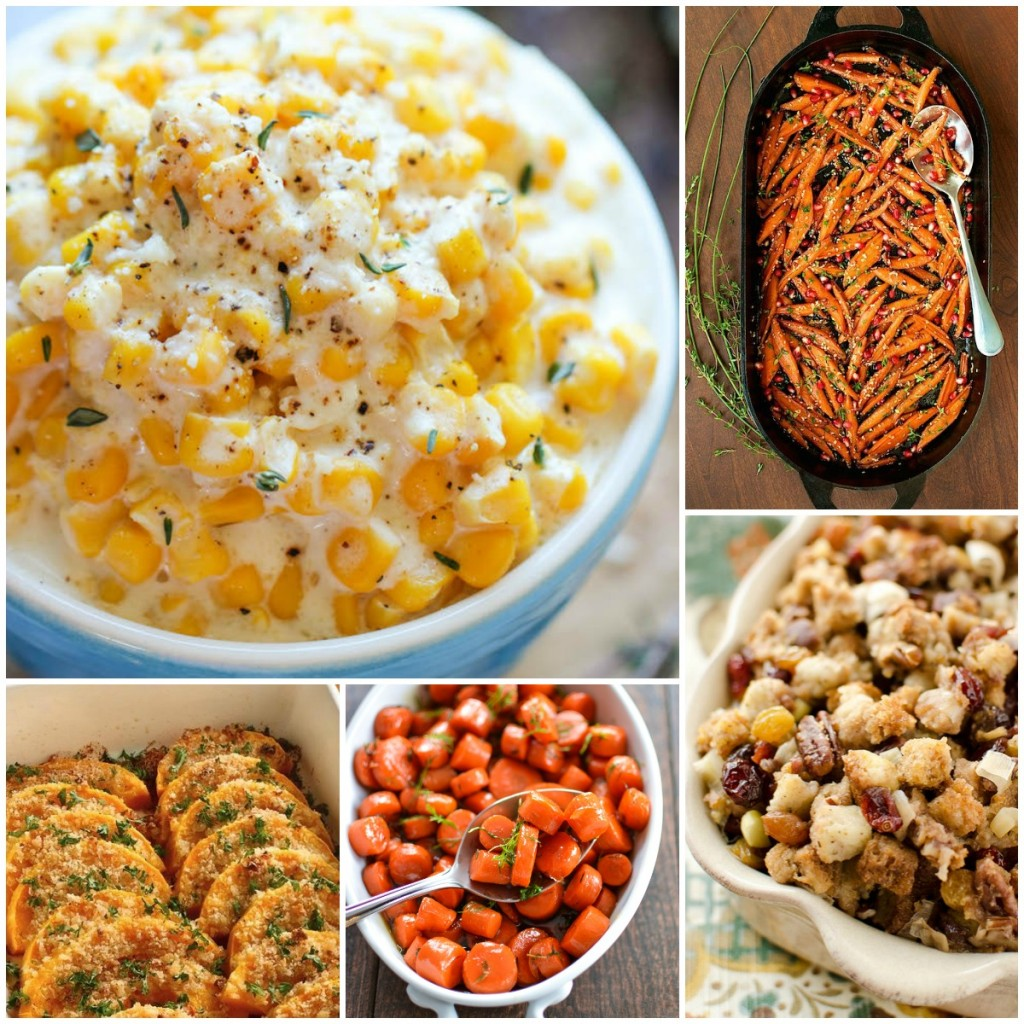 A variety of delicious side dishes for the holidays
