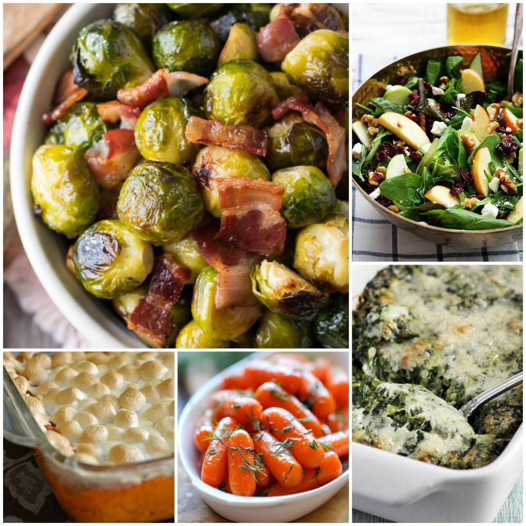 Delicious veggies and sides for your holiday meal